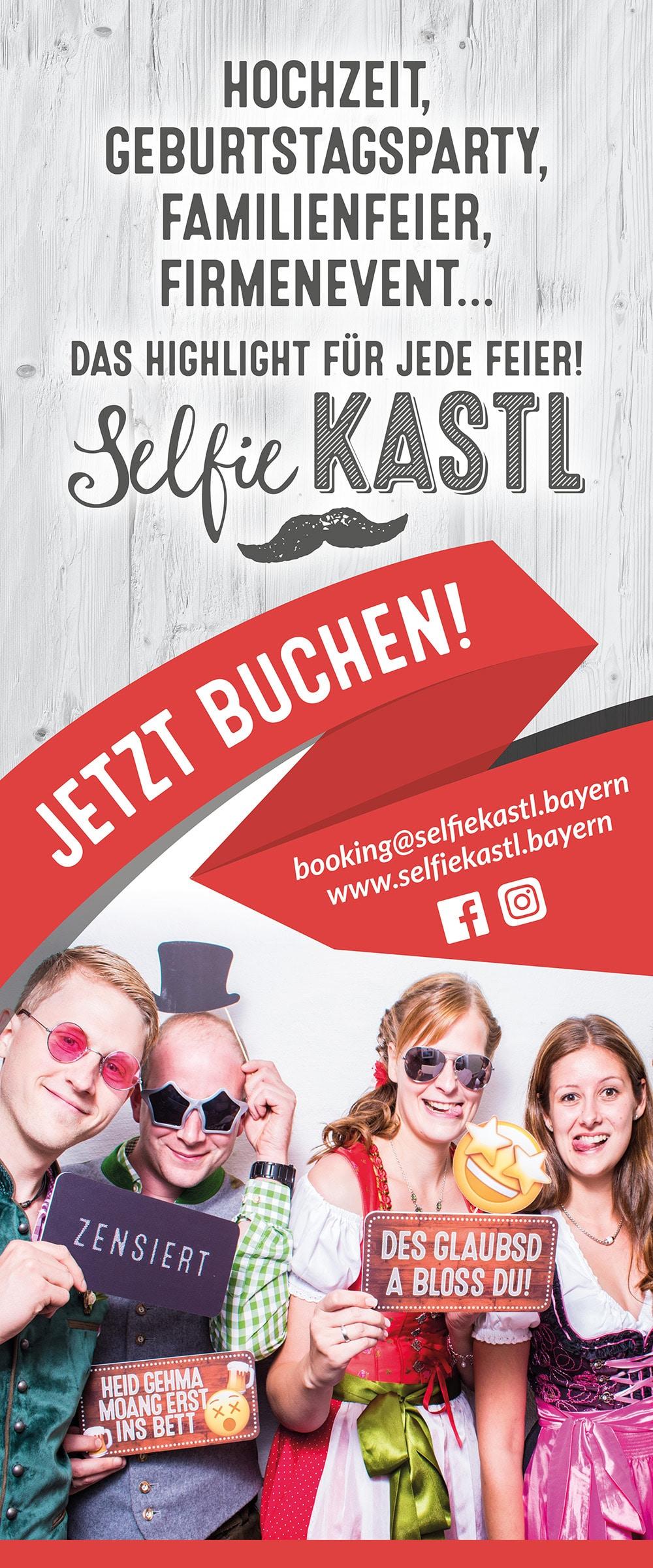 Selfiekastl - die Fotobox